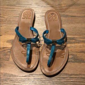 Tory Burch sandals teal
